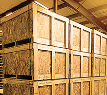Wood Shipping Crates